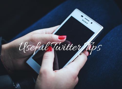 Useful Twitter Tips