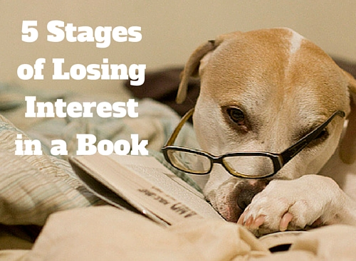 5 Stages of Losing Interest in a Book