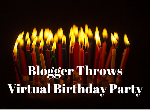 Blogger Throws Virtual Birthday Party