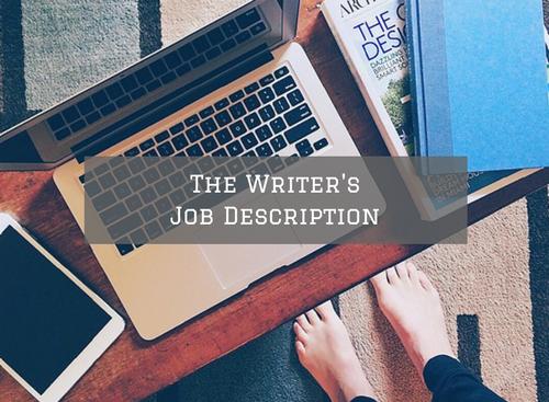 the-writers-job-description