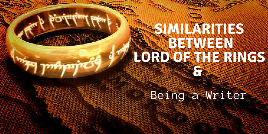 Similarities Between Lord of the Rings & Being a Writer #writer #writerslife #amwriting