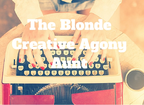 Blonde Creative Agony Aunt