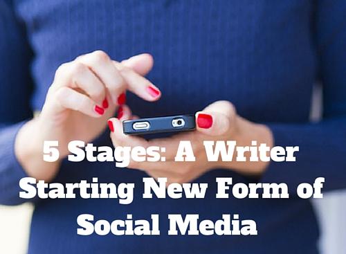 Writer Starting New Social Media