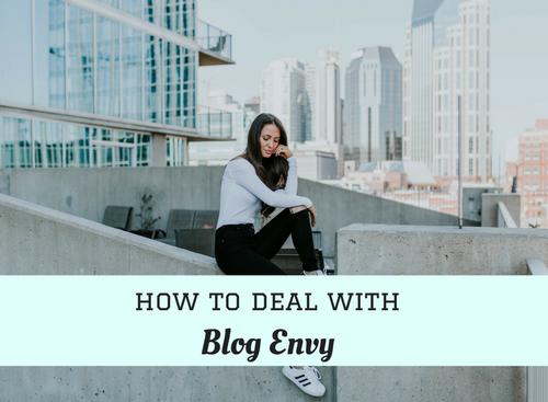 #Blogging #envy
