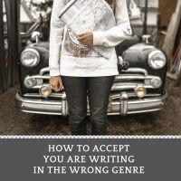 How To Accept You Are Writing In The Wrong Genre #writers