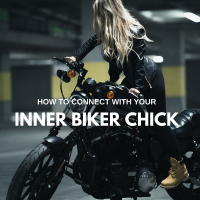 How To Connect With Your Inner Biker Chick #MondayBlogs #bikergirl #Motivation