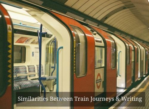 Similarities Between Train Journeys & Writing #MondayBlogs #Amwriting