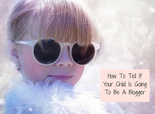 blogging, child