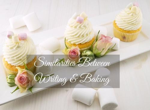 writing, baking