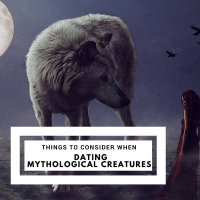 What You Should Consider When Dating Mythological Creatures #romance #Vampire #Werewolf