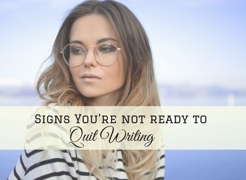 writing, quitting writing, writers