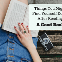 40 Things You Might Find Yourself Doing After Reading A Good Book #SundayBlogShare #AmReading