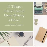 10 Things I've Learned About Writing A Novel @toodletinkbaby  #Books