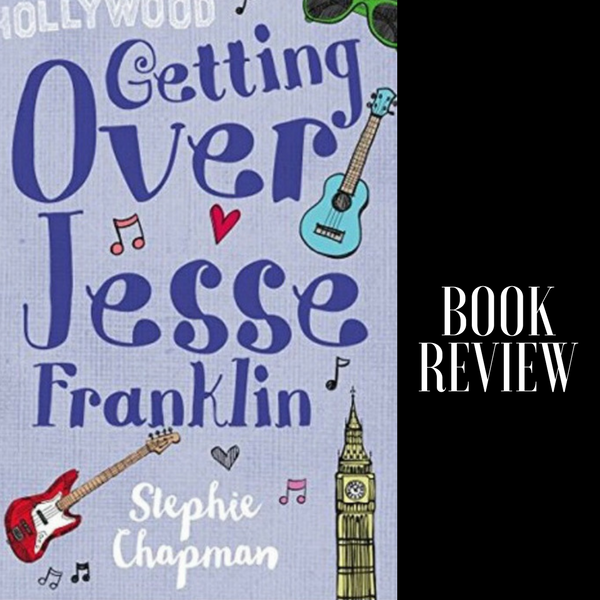 When Your 90's Boy Band Crush Falls In Love With You ❤️ Read My Book Review of 'Getting Over Jesse Franklin' #MondayBlogs @imcountingufoz