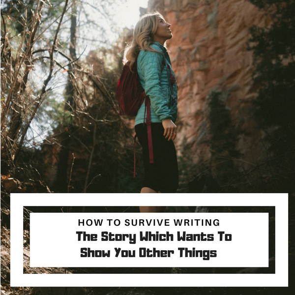 How To Survive Writing The Story Which Wants To Show You Other Things #AmWriting #Writer