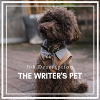 Job Description - The Writer's Pet #Writers #WritingCommunity