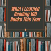 What I Learned Reading 100 Books This Year #TuesdayBookBlog #AmReading