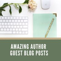 Amazing Author Guest Posts