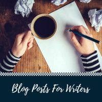 Blog Posts For Writers