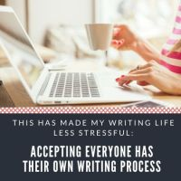 Why I Stopped Questioning My Own Writing Process  #MondayBlogs