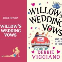 #BookReview Willow's Wedding Vows @DebbieViggiano #Romance