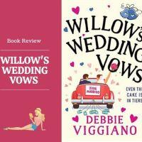 #BookReview Willow's Wedding Vows @DebbieViggiano #Romance