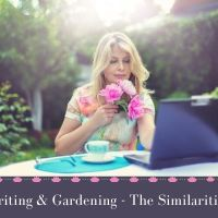 Writing & Gardening -   🌱🌺🥔🥕 📚 The Similarities  #AmWriting