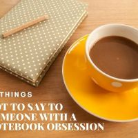 10 Things Not To Say To Someone With A Notebook Obsession 📚📚📚 #MondayBlogs