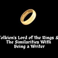 Tolkien's Lord of The Rings & The Similarities With Being a Writer #MondayBlogs