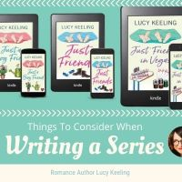 Romance Author @lucy_k_author - Things To Consider when writing a series #Amwriting