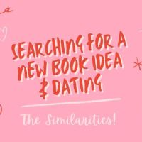 Searching For a New Book Idea & Dating - The Similarities  #AmWriting