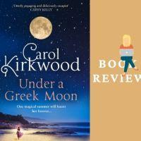 #BookReview Under a Greek Moon @carolkirkwood