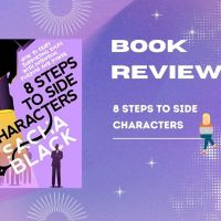 #Writers 8 Steps to Side Characters #BookReview @sacha_black