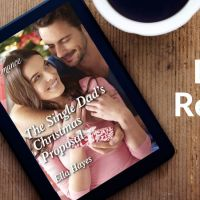 #BookReview The Single Dad's Christmas Proposal @EllaHayesAuthor